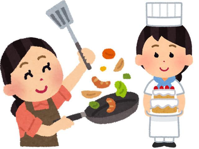 料理・お菓子づくりの習い事でおうち時間充実!